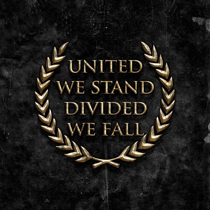 united we stand divided we fall The year 2016 has been termed the 'annus horribilis' (leonard, 2017) for the  european union (eu) from a number of perspectives: the united.