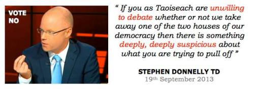 No there's nothing suspicious about the fact that Kenny is a terrible debator or that the Taoiseach never debates referendums. There are enough debates on TV, on the internet and in the newspapers.