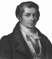 The man himself who first developed his theory in 1803