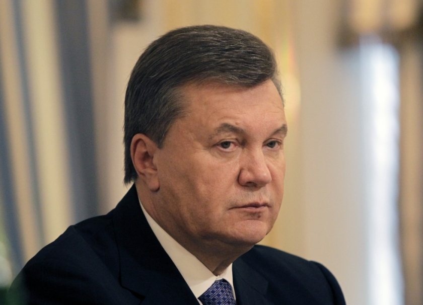 Viktor Yanukovych, until last month the Pro-Russian President of Ukraine