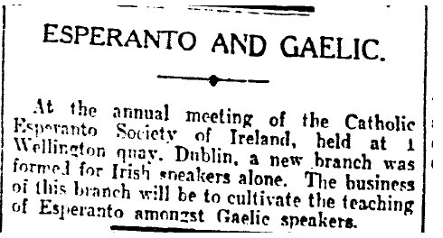 Irish Times 6ht December 1933